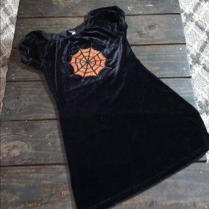 3/$27 Jacob JR black velvet dress